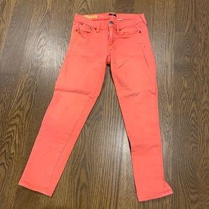 J crew matchstick jeans size 25